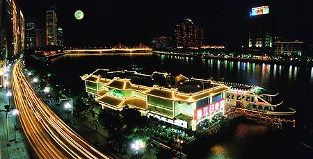 珠江夜游天字码头