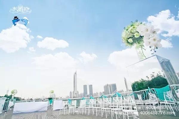 浪漫的珠江夜游婚礼